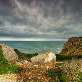 sessinbra/Portugal  by Gjunior Photographer - Landscapes Beaches ( nature, beach, clouds and sea, landscape )