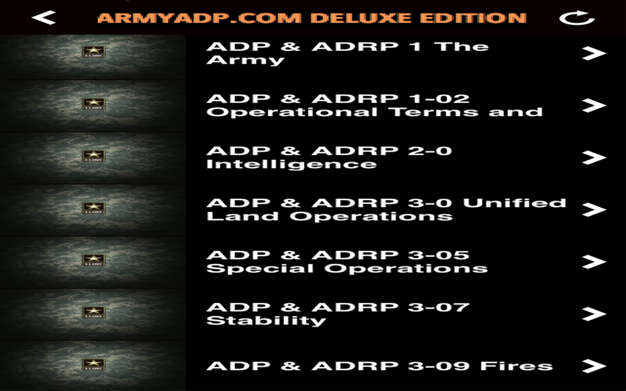 Army apft regulation tc - Armyadp Com Deluxe Edition New Army Study Guide Screenshot
