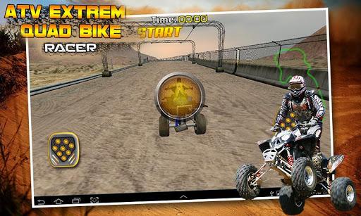 ATV Extreme Quad Bike Rider