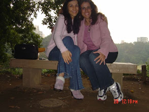 Photo: In the park with my friend Edna