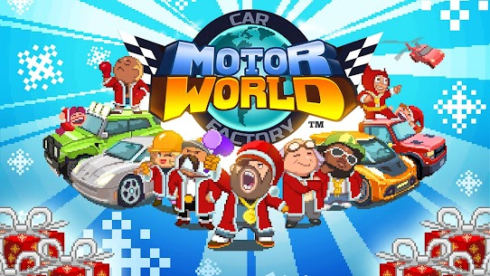 Motor World Car Factory Mod Apk 1.9035 1