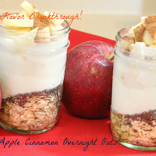 Apple Cinnamon Overnight Oats!