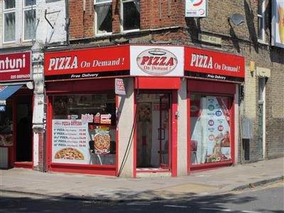 Pizza On Demand On West Green Road Pizza Takeaway In West