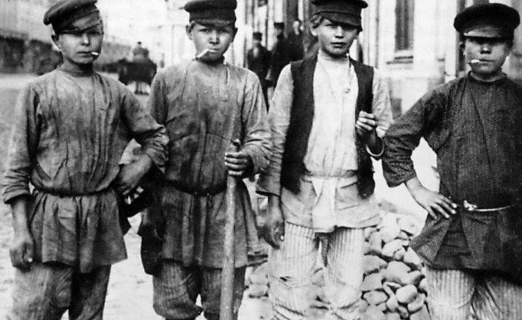 Маленькие преступники старого Киева