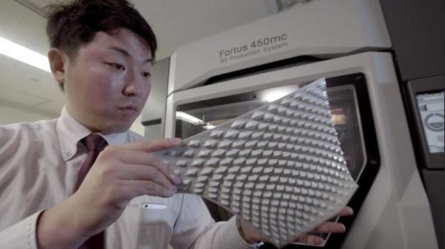 Панели печатаются из ALA-пластика на 3D-принтерах
