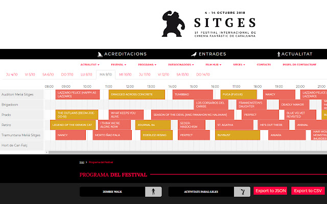 Sitges Film Festival Plus