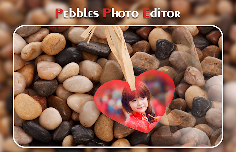 Pebbles Photo Frame - náhled