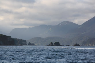 Photo: Another day went on a halibut charter. about 1.5 hrs out of the bay into the gulf. this is port graham where a native village lives.