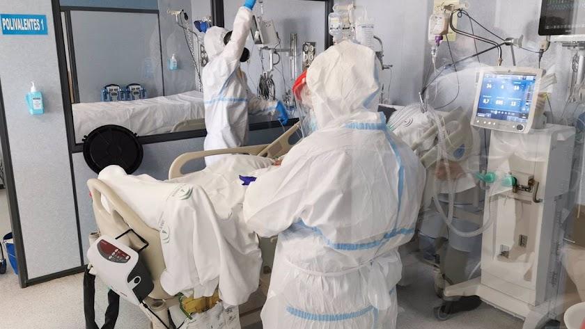 La presión hospitalaria sigue a la baja en la provincia.