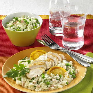 Risotto with Lemon Chicken