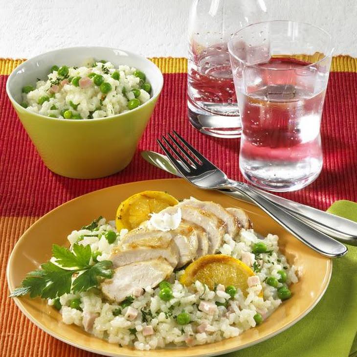 Risotto with Lemon Chicken Recipe