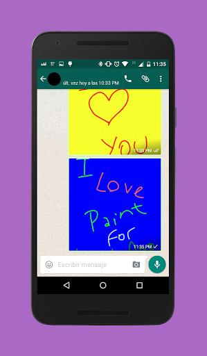 Paint for Whatsapp & Messenger 2.0 screenshots 5