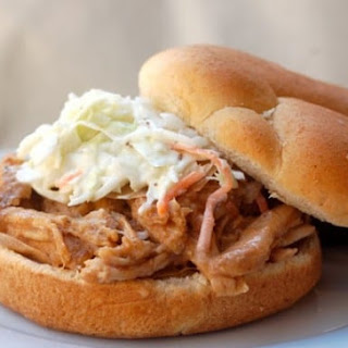 Slow Cooker Pulled Pork Loin with Applesauce Recipe