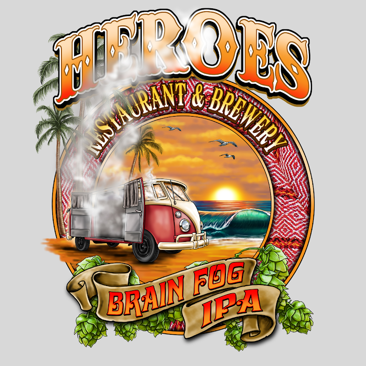 Logo of Heroes Brain Fog IPA