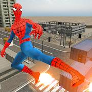 Flying Gunship Super Hero Battle