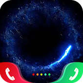 Burning Rings Caller Screen