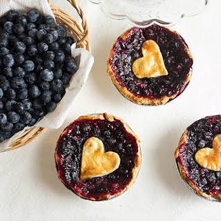 Mini Blueberry Pies.