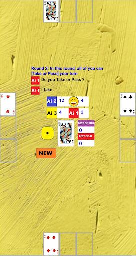 Simple Black Jack: You and 3 AI screenshots 2