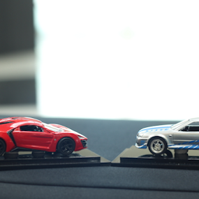 The Fast and the Furious  by Timmothy Tjandra - Artistic Objects Toys ( car, red, japan, toy, speed, cars, boys, toys, movie, boy )