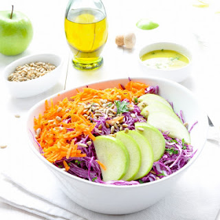Purple Cabbage And Green Apple Salad