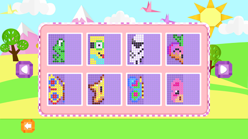 Mirror Mosaic : Symmetry Puzzles apkpoly screenshots 4