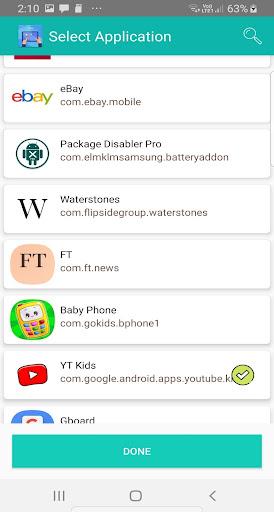 Kids Dashboard (Parental control KIDS MODE APP) 40.0 screenshots 2