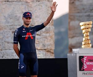 """Filippo Ganna na derde winst in Giro: """"Elke zege is belangrijk voor mij"""""""
