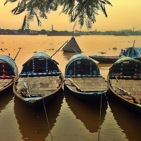 by Kausik Das - Transportation Boats