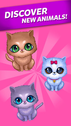 Merge Cute Animals: Cat & Dog 1.0.94 screenshots 11