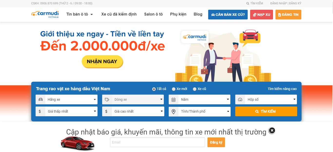 hình ảnh 4 Top 15 Trang Web Mua Bán Xe Ô Tô Uy Tín Nhất Việt Nam