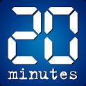 20 Minutes pour Tablette icon