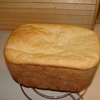 Bread Machine English Muffin Loaf.