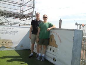 Photo: Chris and I atop San Petronio