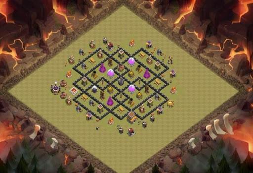 Best Base Maps COC TH8 1.0 screenshots 1