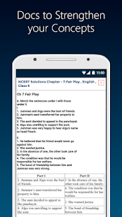 Class 6 App CBSE NCERT Science Maths English Hindi - náhled