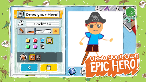 Draw a Stickman: EPIC 3 apktram screenshots 15
