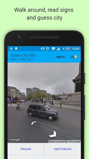 Guess City 3D - Panoramic 360 Game. Walk and Guess 30 screenshots 1