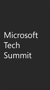 Microsoft Tech Summit - náhled