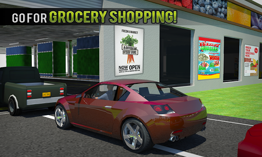 Drive Thru Supermarket: Shopping Mall Car Driving ss2