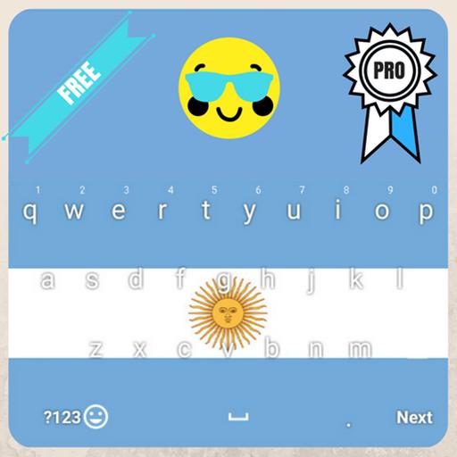 Argentina Keyboard Theme & Emoji