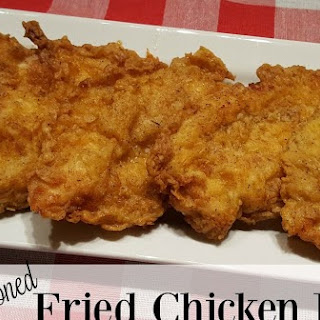 Herb Seasoned Fried Chicken Breast Recipe