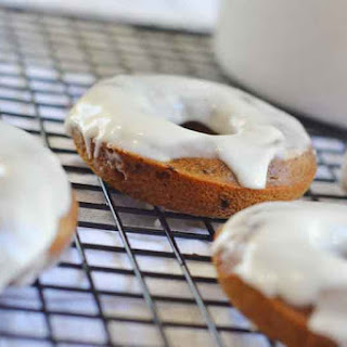 Baked Coffee Donuts