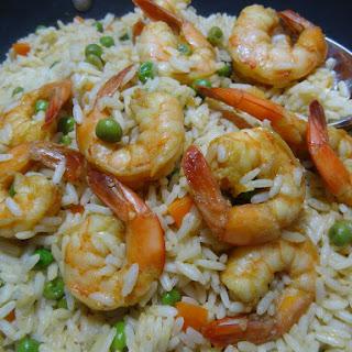 Arroz de Camarao – Portuguese Shrimp and Rice.