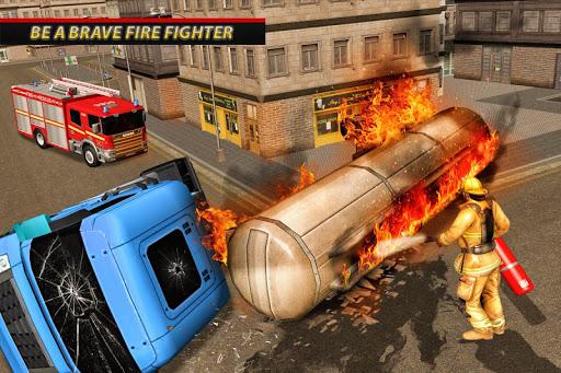 Fire Truck Ambulance Driver: Fire Rescue Games 1.0 screenshots 1