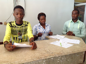 Photo: Conference Registration Assistants Ready for Registration