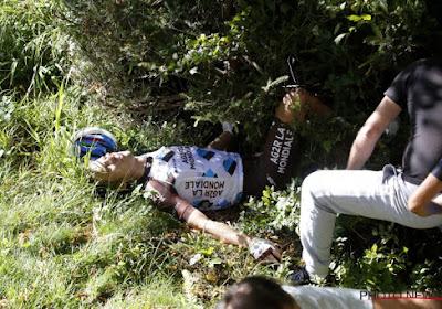 AG2R-La Mondiale komt met update over Jan Bakelants: 'dringende operatie op vrijdag' na zware valpartij