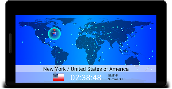 World time map android apps on google play world time map screenshot thumbnail gumiabroncs Images