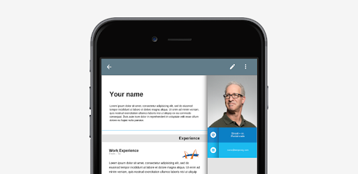 resume app - by 23apps com
