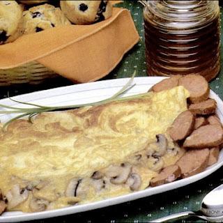 Cheddar Mushroom Omelet