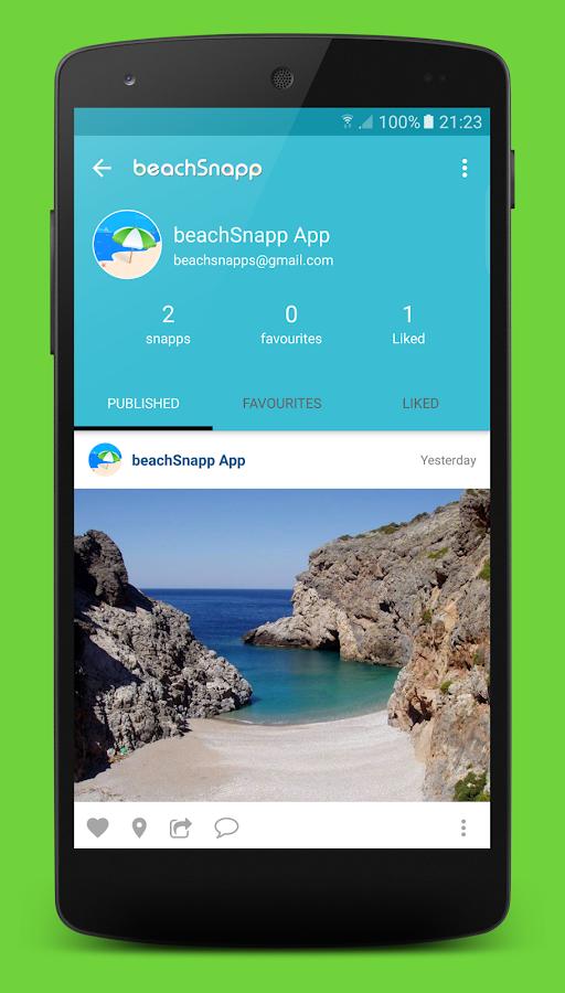 beachSnapp - στιγμιότυπο οθόνης